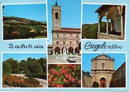 BELLISSIMA CARTOLINA CINGOLI E156 - Cartoline