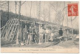 VERRIERES, Forèt De L'Argonne - Une Hutte De Charbonniers - France