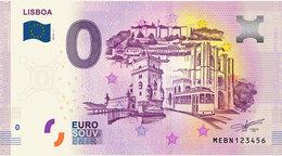 Zero Euro Nota Souvenir - Lisboa  Portugal - 2019 - UNC - EURO