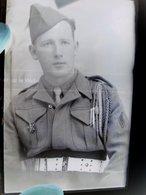 GUERRE 39-45 WW2 14 Plaques De Verres Portraits De Soldats De La Libération Dont 1er Regiment De Marche Division LECLERC - 1939-45