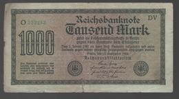 ALEMANIA - GERMANY -  1000 Mark 1922  P-76 - [ 6] 1949-1990 : RDA - Rep. Dem. Alemana
