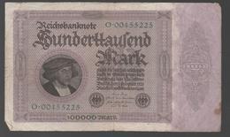 ALEMANIA - GERMANY -  100.000 Mark 1923  P-83 - 100 Deutsche Mark