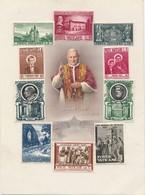 I93 - Planche 10 Timbres Vaticano - Joannes XXIII - 34 - Vatican