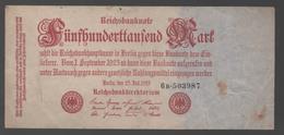 ALEMANIA - GERMANY -  50.000 Mark 1923  P-92 - 100 Deutsche Mark