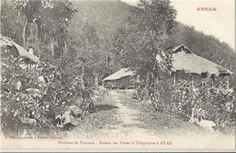 CPA Vietnam Environs De Tourane Bureau Des Postes Et Télégraphes à Ké-Ka - Viêt-Nam