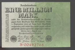 ALEMANIA - GERMANY - 1.000.000 Mark 1923  P-101 - 100 Deutsche Mark