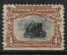 U.S.A.1901, 4 Cents, Automobile, , Used - United States
