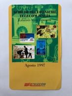 DEPLIANT TELECOM ITALIA PER PRENOTARE CATALOGO - Phonecards