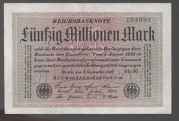 ALEMANIA - GERMANY - 50.000.000 Mark 1923  P-109 - [ 6] 1949-1990 : RDA - Rep. Dem. Alemana