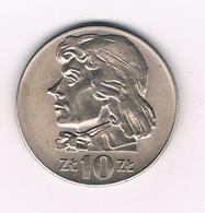 10 ZLOTY 1970  POLEN 2687/ - Poland