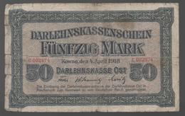 ALEMANIA - GERMANY - 50 Mark 1918  PR-132 - 100 Deutsche Mark