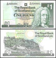 SCOTLAND - 1 Pound 01.10.2001 UNC P.351 E - 1 Pond