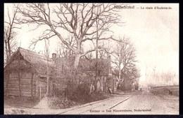 NEDERBRAKEL - LA ROUTE D'AUDENARDE -- Oude Herdruk Zeldzame Oude Kaart - Brakel