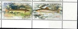 ALBANIA ,2018, FISH,2v - Fishes