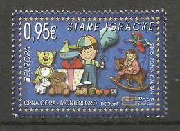 Montenegro  2015  Mi.Nr. 370 , EUROPA CEPT - Historisches Spielzeug - Gestempelt / Used / (o) - 2015