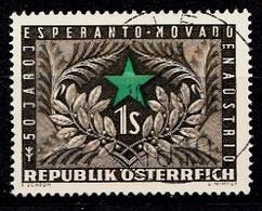 Autriche 1954 Mi.Nr: 1005 Esperantobewegung  Oblitèré / Used / Gebruikt - 1945-.... 2ème République