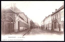 NEDERBRAKEL - LA RUE BASSE -- Oude Herdruk Zeldzame Oude Kaart - Brakel