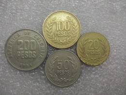 Colombia  20 - 200 Pesos - Colombia