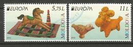 Moldawien / Moldova  2015  Mi.Nr. 3236 , EUROPA CEPT - Historisches Spielzeug - Gestempelt / Used / (o) - Europa-CEPT