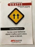 "DEPLIANT ""SUPERLINEA ISDN"" - TEMATICA PARI A SCHEDA TELEFONICA COMPRESA NELLA VENDITA -  VEDI FOTO - Phonecards"