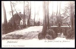 NEDERBRAKEL - LA ZWALM AU MOLENHOEK -- Oude Herdruk Zeldzame Oude Kaart - Brakel