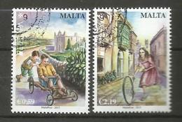 Malta  2015  Mi.Nr. 1903 / 1904 , EUROPA CEPT - Historisches Spielzeug - Gestempelt / Used / (o) - Europa-CEPT