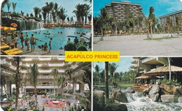 Mexico Acapulco Princess Hotel Postcard Used Good Condition - Mexico