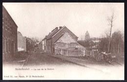 NEDERBRAKEL - RUE DE LA STATION -- Oude Herdruk Zeldzame Oude Kaart - Brakel