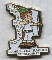 Pin's Tir Arc Archery Flines-lez-Raches - Tir à L'Arc