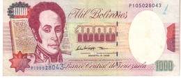 Venezuela P.76d 1000 Bolivares 1998  Unc - Venezuela