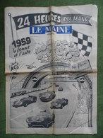"24 H Du Mans 1959.Victoire DB Panhard.Aston-Martin.Tavano.Camion""Air Liquide"". - 1950 à Nos Jours"