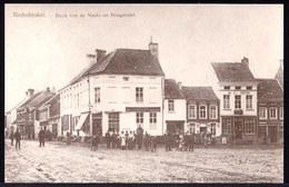 NEDERBRAKEL - HOEK VAN DE MARKT EN HOOGSTRAAT -- Oude Herdruk Zeldzame Oude Kaart - Brakel