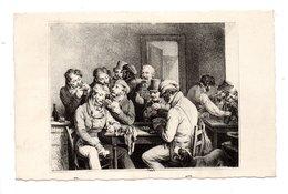 LES MAÎTRES DE L'ESTAMPE . L'OEUVRE DE BOILLY . LE JEU DE CARTES . 4F ANJOU PRÉOBLITÉRÉ - Réf. N°21170 - - Peintures & Tableaux
