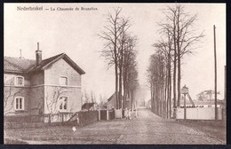 NEDERBRAKEL - CHAUSSEE DE BRUXELLES -- Oude Herdruk Zeldzame Oude Kaart - Brakel