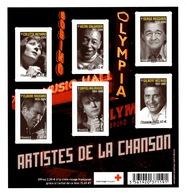 YV F4605 YV 4605 à 4610 N** Chanson Française - Prix = Faciale Hors Surtaxe Croix Rouge - France