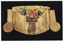Peru Lima Museum Of Peru Mask Of Gold Postcard Unused Good Condition - Pérou
