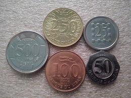 Lebanon) Set : 25 Kuni 500 Livres UNC 1996-2012 - Liban