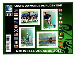 YV F4576 YV 4576 à 4579 N** Rugby - Prix = Faciale - France