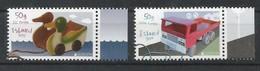 Island  2015   Mi.Nr. 1459 / 1460 , EUROPA CEPT - Historisches Spielzeug  - Postfrisch / MNH / (**) - 2015