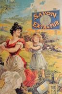 Petite Affiche  Cartonnée SAVON LA DUCHESSE IMP BERNARD CARANT - Affiches