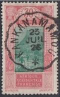 Guinée Française 1912-1944 - Ambulant De Kankan à Mamou Sur N° 91 (YT) N° 100 (AM). Oblitération De 1926. - Guinée Française (1892-1944)