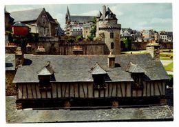 Vannes Le Château . Au Premier Plan Les Lavoirs (carte Jean Audierne) - Vannes
