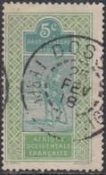 HSN Territoire Du Niger - Dosso Sur N° 21 (YT) N° 21 (AM). Oblitération De 1918. - Oblitérés