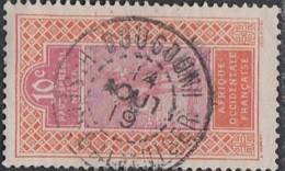 Haut-Sénégal Et Niger - Bougouni Sur N° 22 (YT) N° 22 (AM). Oblitération De 1919. - Oblitérés