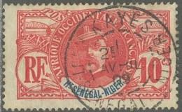 Haut-Sénégal Et Niger - Kayes Sur N° 5 (YT) N° 5 (AM). Oblitération De 1909. - Oblitérés