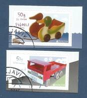Island  2015   Mi.Nr. 1461 / 1462 , EUROPA CEPT - Historisches Spielzeug  - Selbstklebend - Gestempelt / Used / (o) - Europa-CEPT