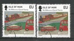 Isle Of Man   2015   Mi.Nr. 2026 I + 2026 II , EUROPA CEPT - Historisches Spielzeug - Gestempelt / Used / (o) - Europa-CEPT