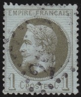 France   .   Yvert    .    25       .      O      .     Oblitéré - 1863-1870 Napoleon III With Laurels