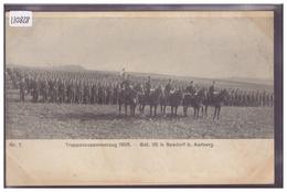 AARBERG - ARMEE SUISSE - MILITAIRE - TRUPPENZUSAMMENZUG 1905 - Nr 7 - TB - BE Berne