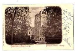 1900 - BRUCK A.d.Leitha - Harrach Schloss Eingang - Bruck An Der Leitha